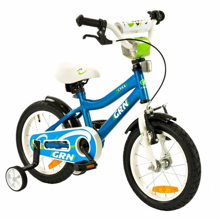2Cycle Kinderfiets 14 inch GRN (1427)