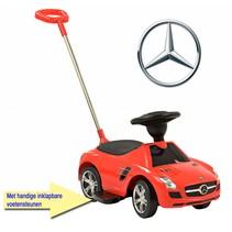 Loopauto Mercedes-Benz met Duwstang - 2e