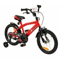 Kinderfiets 16 inch BMX Rood
