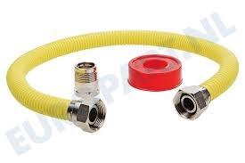 EASYFIKS EASYFIKS 5.18.35.98-6 RVS GAS AANSLUITSET / 60CM