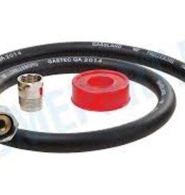 EASYFIKS EASYFIKS 5.18.35.71-6 RUBBEREN GAS AANSLUITSET / 100CM COMPLEET
