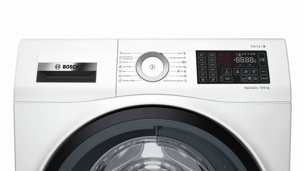 Bosch Bosch WDU28540NL Was/Droog combinatie 10 kg wassen - 6 kg drogen Label: A / A