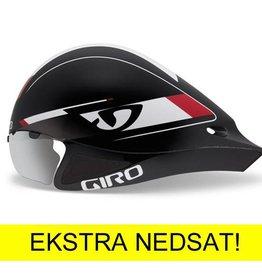 Giro TILBUD Giro Selector Tri-hjelm Rød/Sort Str. S/M