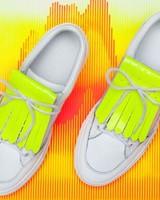 PiNNEDbyK Fringes Neon Yellow