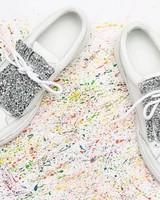 PiNNEDbyK Fringes Glitter Silver
