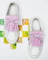 PiNNEDbyK Fringes Glitter Pink