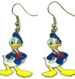 Donald Duck oorbellen