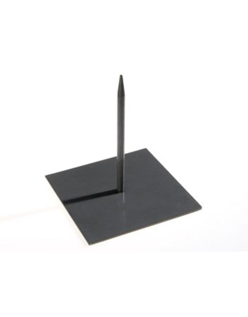 Metalen pin zwart klein