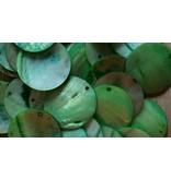 Glazen Capiz groen