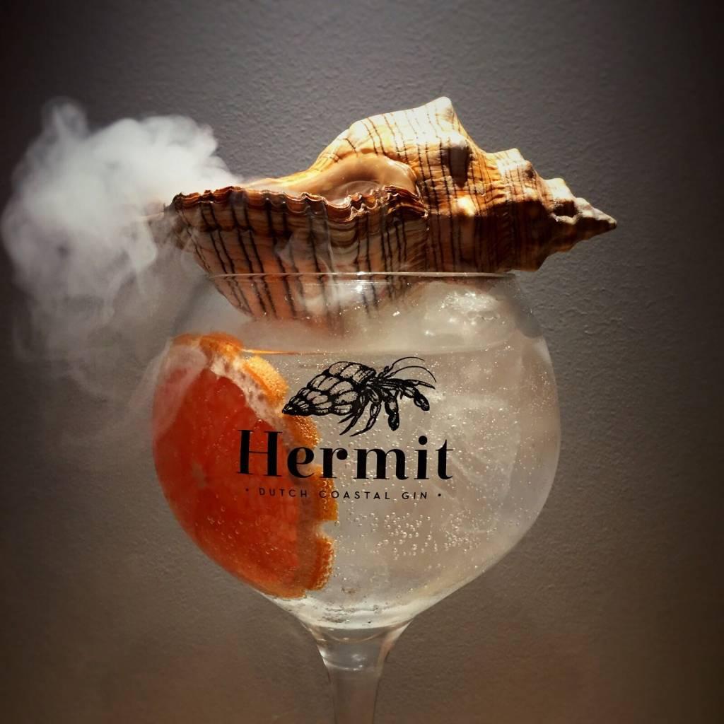 Schelp Fasciolara Trapezium Hermit