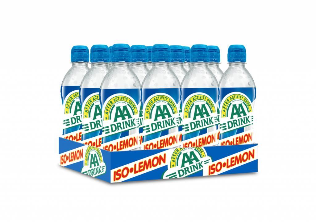 AA Drink Iso Lemon 12x0,5ltr