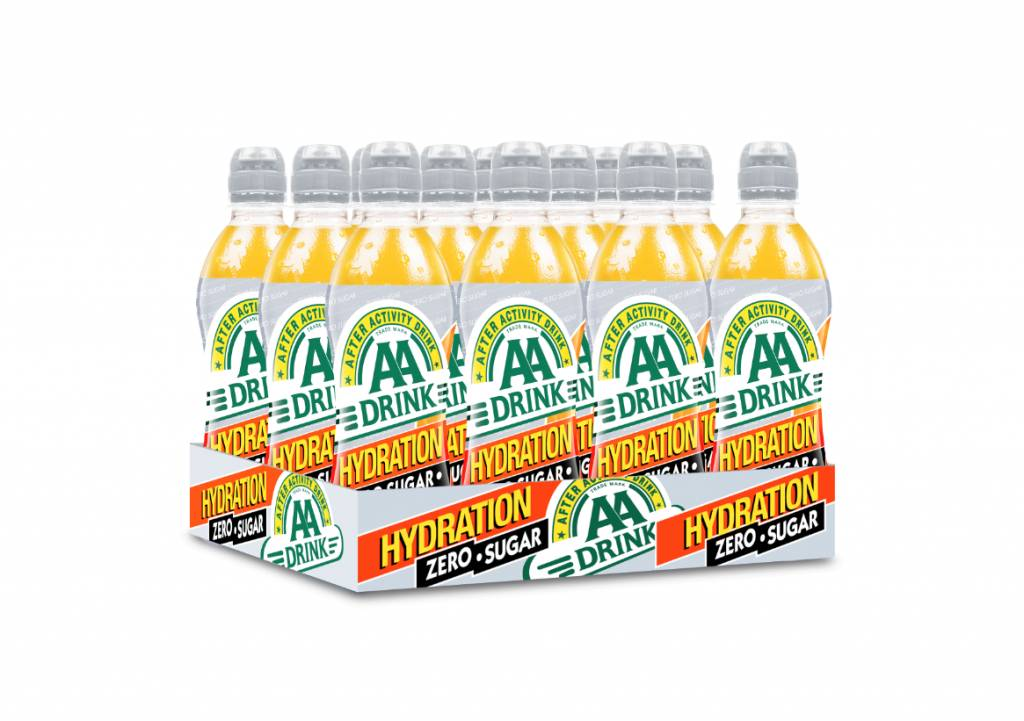 AA Drink Hydration 12x0,5ltr