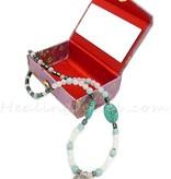 Happy Healthy Me exclusief collier met o.a. maansteen en sterling zilver