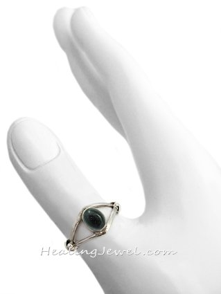 ring ioliet, sterling zilver