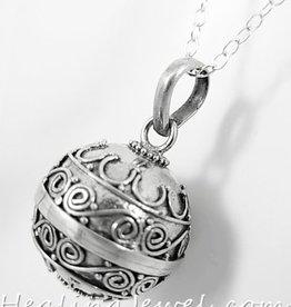 zwangerschapshanger, sterling zilver