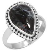 pietersiet ring, sterling zilver, groot model, voordeelactie