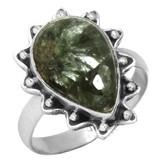 serapheniet ring, sterling zilver, groot model, voordeelactie