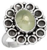 prehniet ring, sterling zilver, groot model, voordeelactie