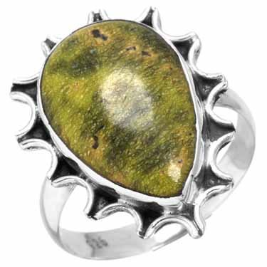 atlantisiet ring, sterling zilver, groot model, voordeelactie