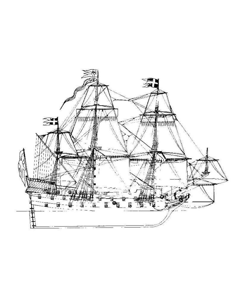 "NVM 10.01.002 Zweeds galjoen ""Wasa"" (1628)"