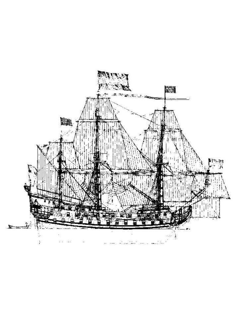 "NVM 10.01.006A ""7 Provincien"" (1665) (II) mastenplan"