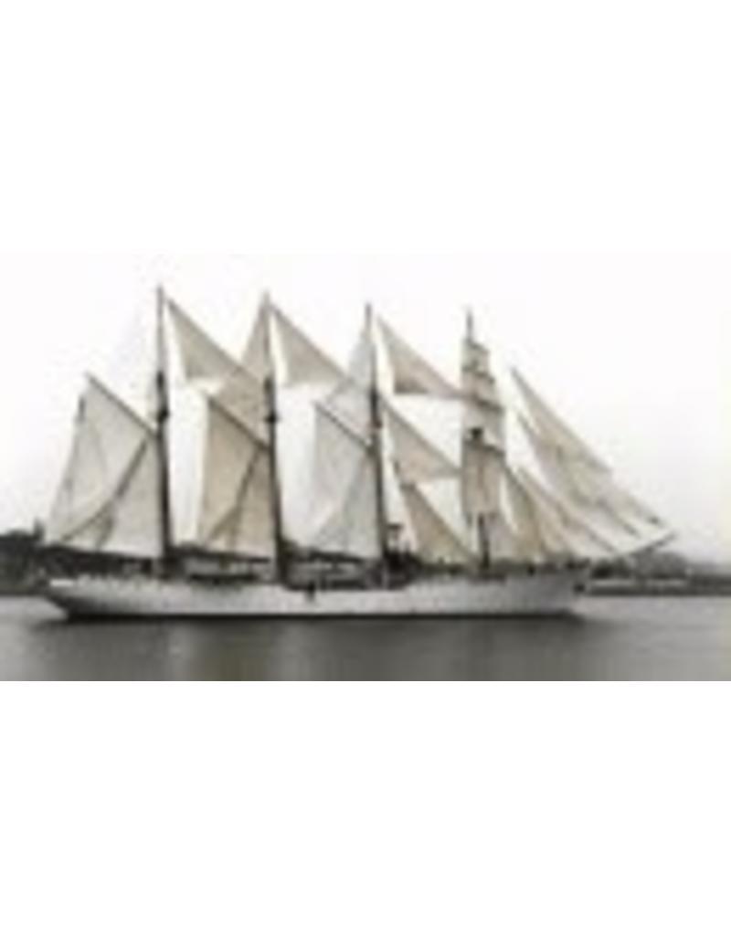 """NVM 10.00.003 Viermastschoener """"Albatros"""", Zweeds opleidingsschip"""