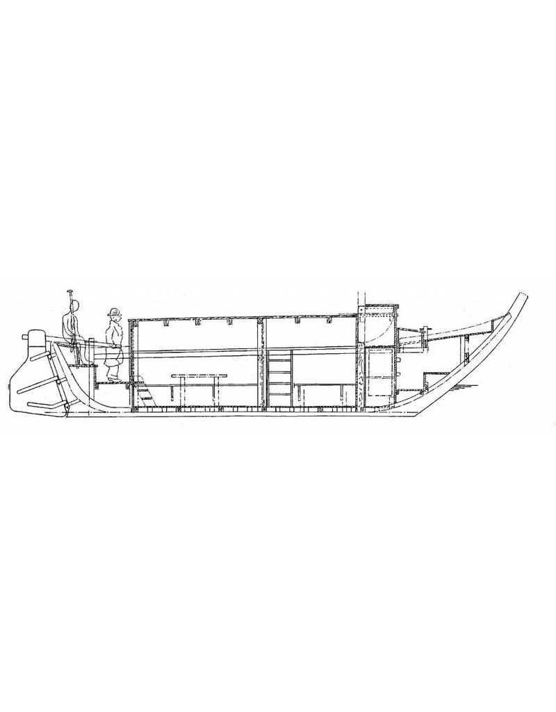 NVM 10.05.017 Snikschuit voor personen (Trekschuit) (begin 18e eeuw)