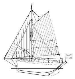 "NVM 10.06.008 plezierjacht ""Paul Eugène"" (begin 20e eeuw)"