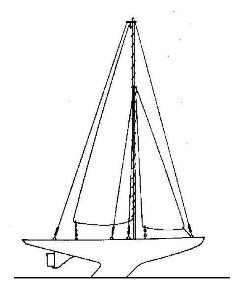"""NVM 10.08.002 wedstrijdzeiljacht """"Jubilé"""" - Belgische Nationale Klasse (midden 20e eeuw)"""