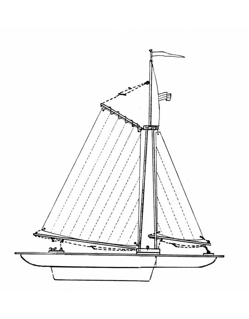 NVM 10.08.003 catamaran jeugdmodelzeiljacht