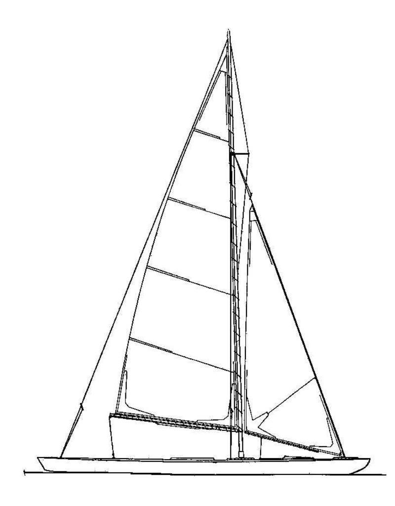 """NVM 10.08.008 modeljacht """"Sterntje"""""""