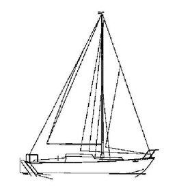 """NVM 10.08.017 zeiljacht """"Bollest̢l"""" (type Seahawk)"""