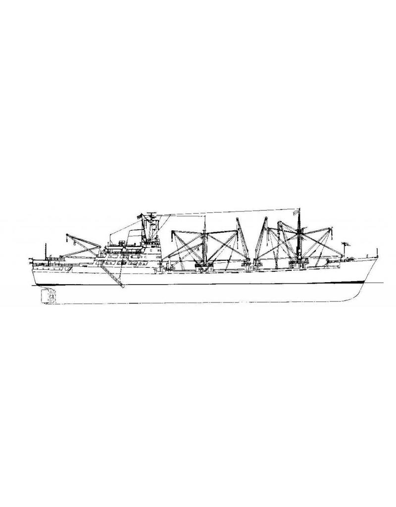 """NVM 10.10.083 vrachtschip ms """"Mirrabooka"""" (1962) - Transatlantic"""