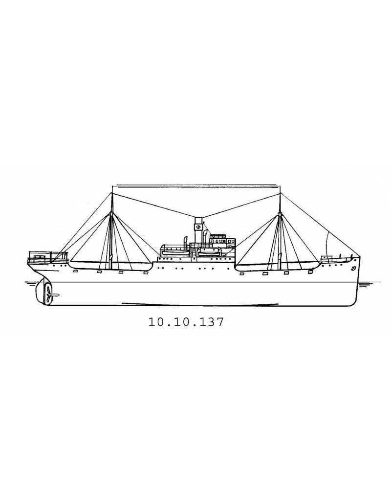 """NVM 10.10.137 vrachtschip ms """"Rijn"""" (1916) - Mij.Houtvaart"""
