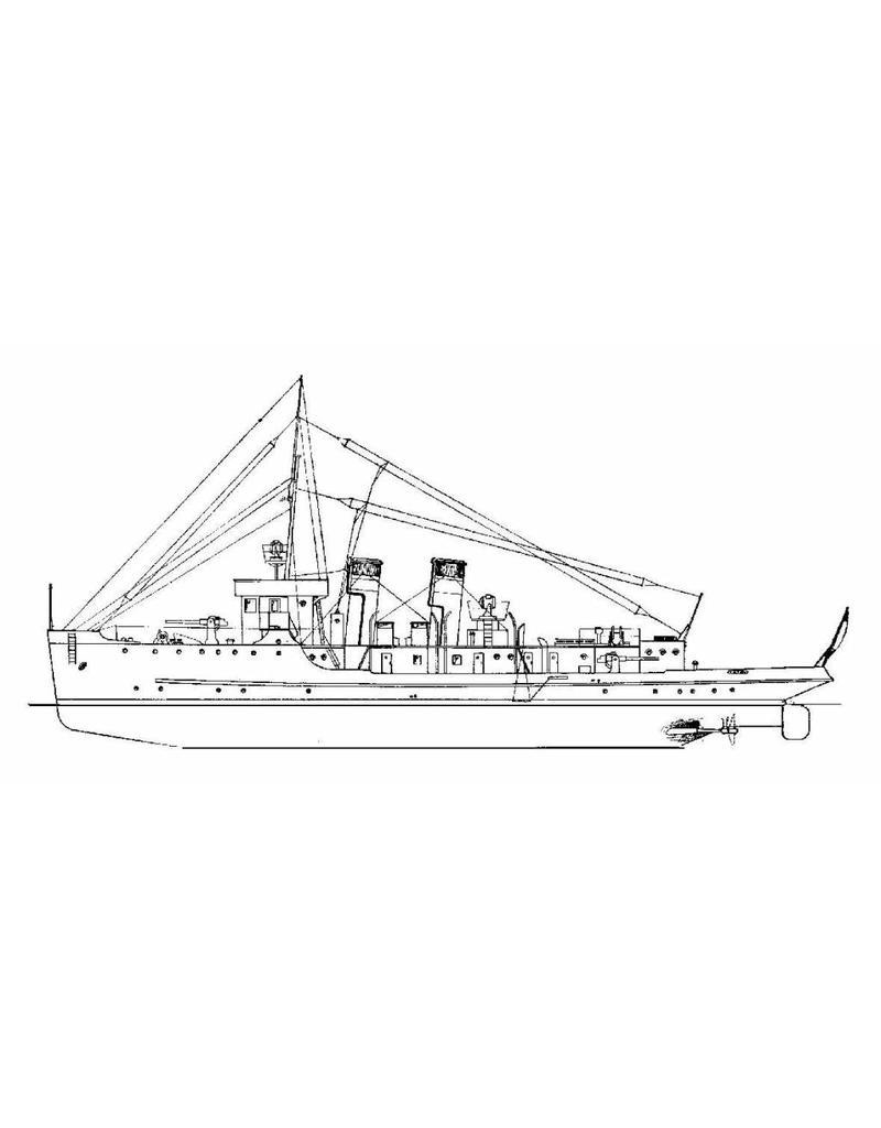 "NVM 10.11.010 USS ""Fulton"" (1914) - submarine tender"