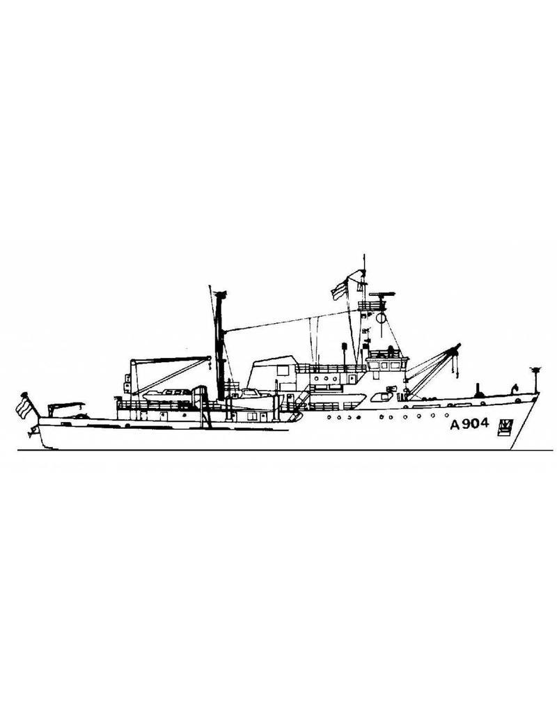 "NVM 10.11.057 HrMs opnemingsvaartuigen ""Buyskes"" A904, ""Blommendal"" A905 (1973)"