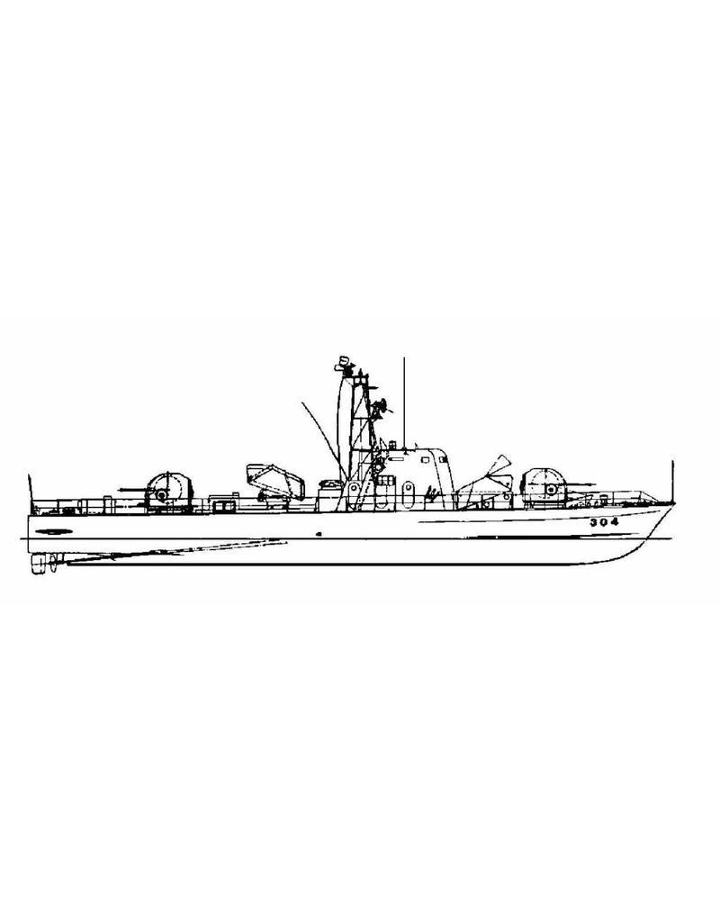 "NVM 10.11.071 Snelle aanvalsboot ""304"""
