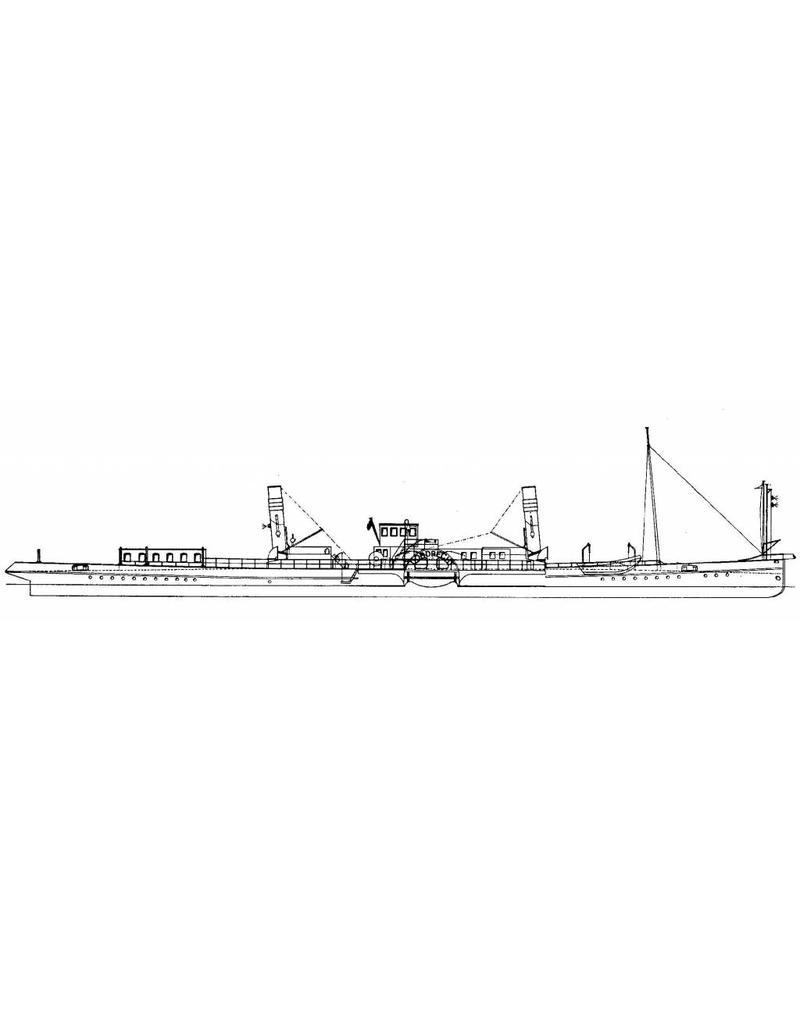 "NVM 10.14.011 Rijn-radersleepboot ss ""Dordrecht"" (1922) - Standaard Transp. Mij, Rotterdam"