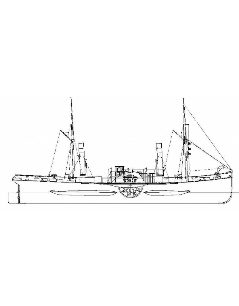 "NVM 10.14.012 Radersleepboot ss ""Wodan"" (1883) - L. Smit & Co."