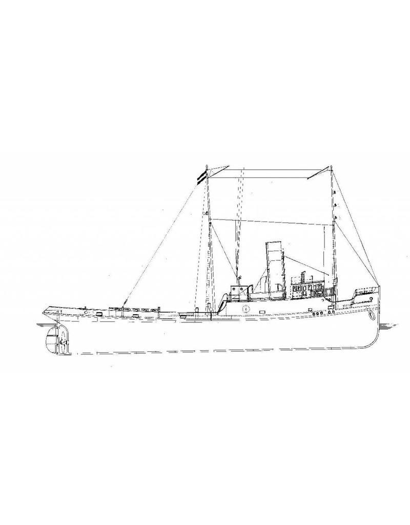 """NVM 10.14.015 zeesleper ss """"Willem Barendz"""" (II) (1921) - Bureau Wijsmuller"""
