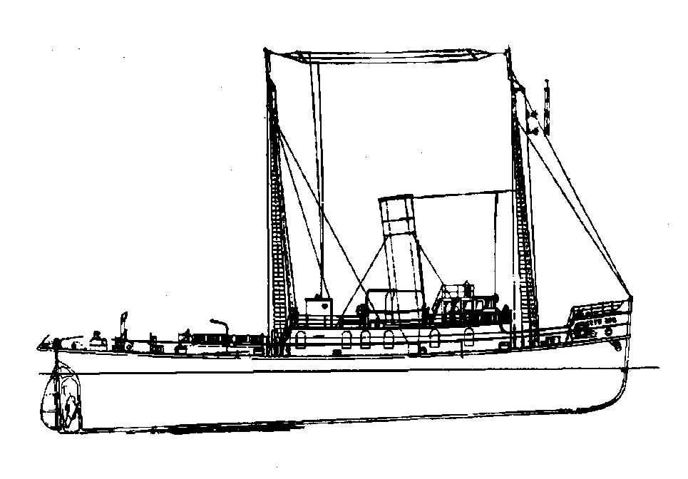 nvm 10 14 023  a zeesleepboot ss  u0026quot witte zee u0026quot   1914