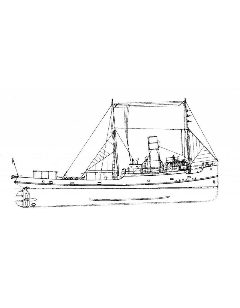 """NVM 10.14.050 zeesleepboot ss """"Ganges"""" en """"Gele Zee"""" (1921) - L. Smit & Co's Intern. Sleepdienst"""