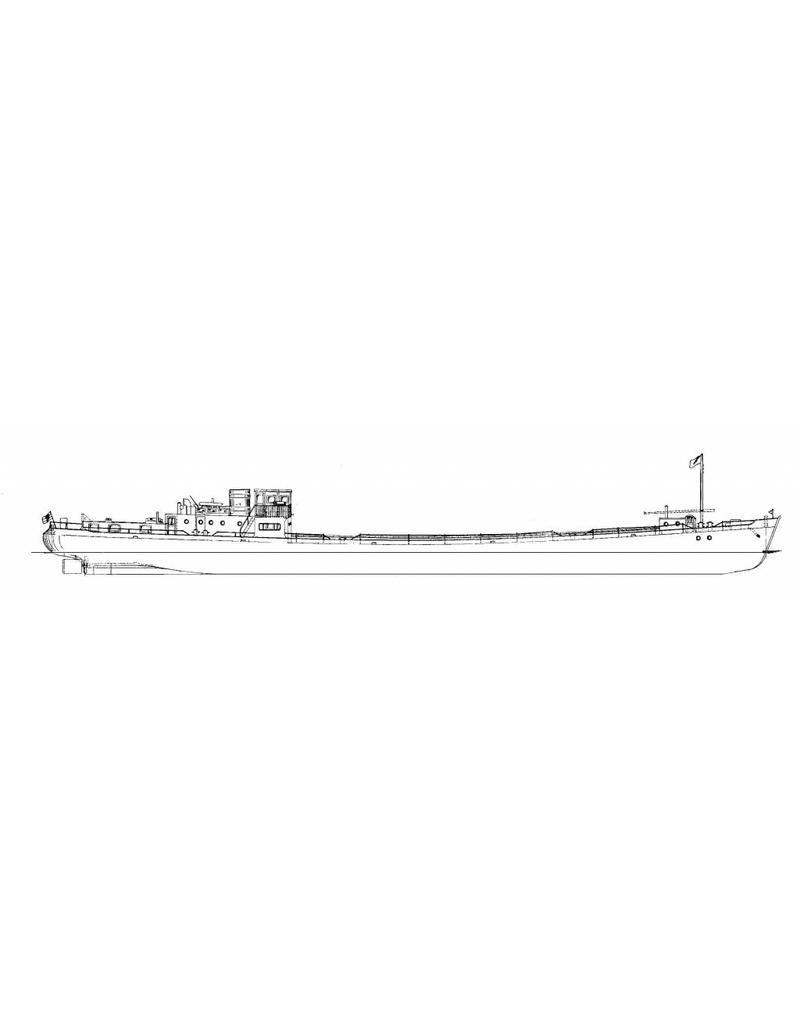 """NVM 10.15.001 Rijnschip ms """"Rietwijk"""" (1949) - Nwe Rijnv. Mij"""