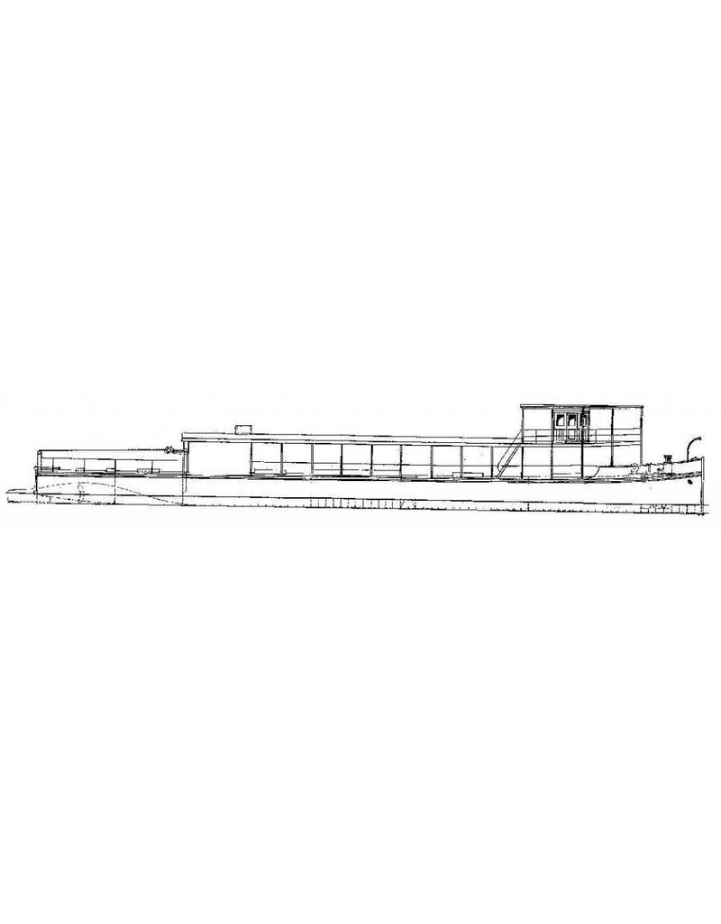 NVM 10.15.042 platbodemsleepboot voor de binnenvaart