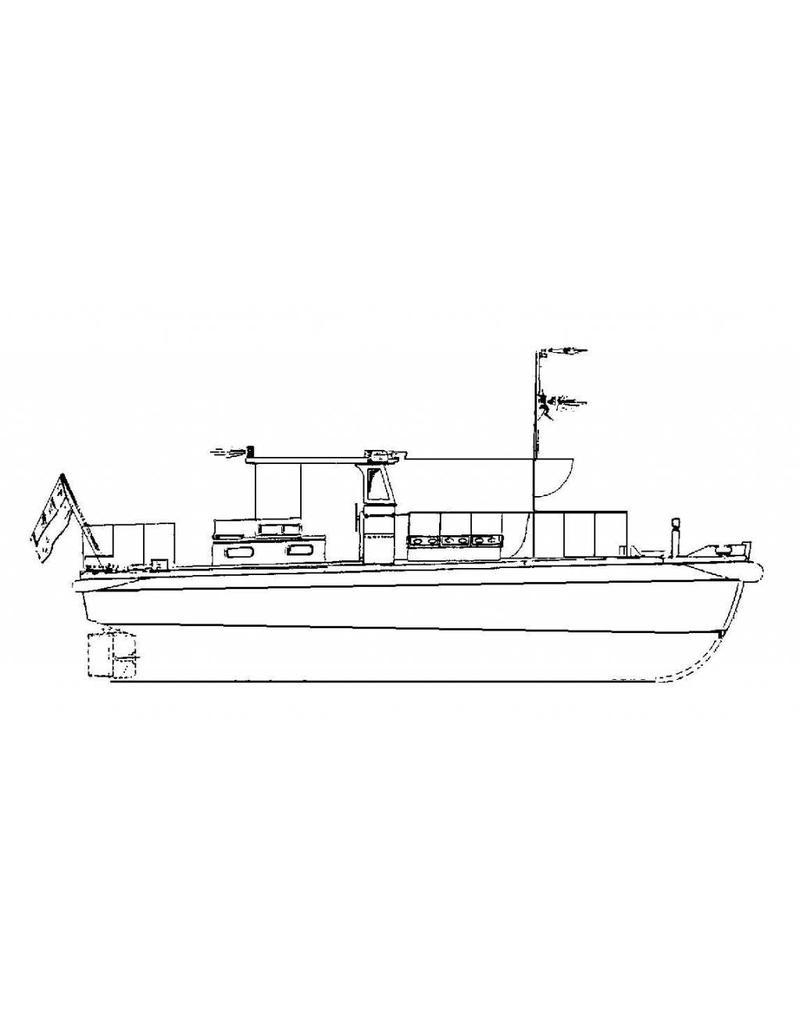 NVM 10.18.016/A Indonesische houten loodsboot