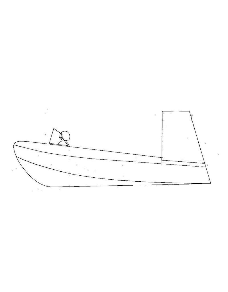 NVM 10.19.009 glijboot-luchtpropellor aangedreven