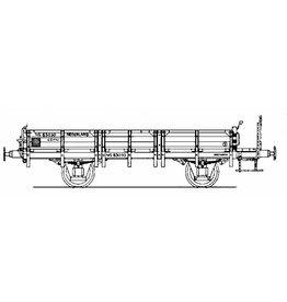 NVM 20.06.002 20 tons zandwagen GZMW NS 83030 voor spoor I