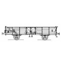 NVM 20.06.003 17,5 tons open goederenwagen glg NS 47834 voor spoor I