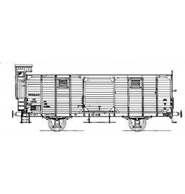 NVM 20.06.011 17,5 tons gesl. goederenwagen NS chep15755 voor I