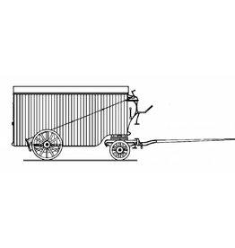 NVM 20.06.050 HIJSM meubelwagen 1-6, open wagen 1001-1016 voor spoor 0